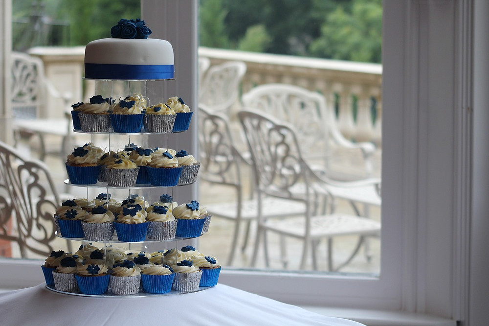 torta de bodas cupcakes