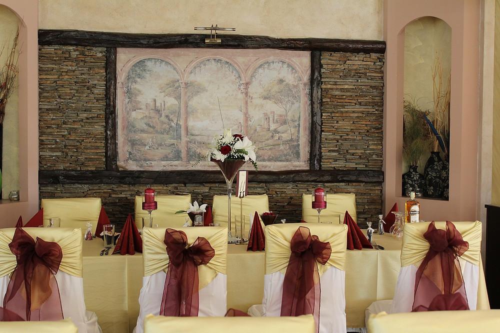 salón de fiesta de bodas; organización de boda