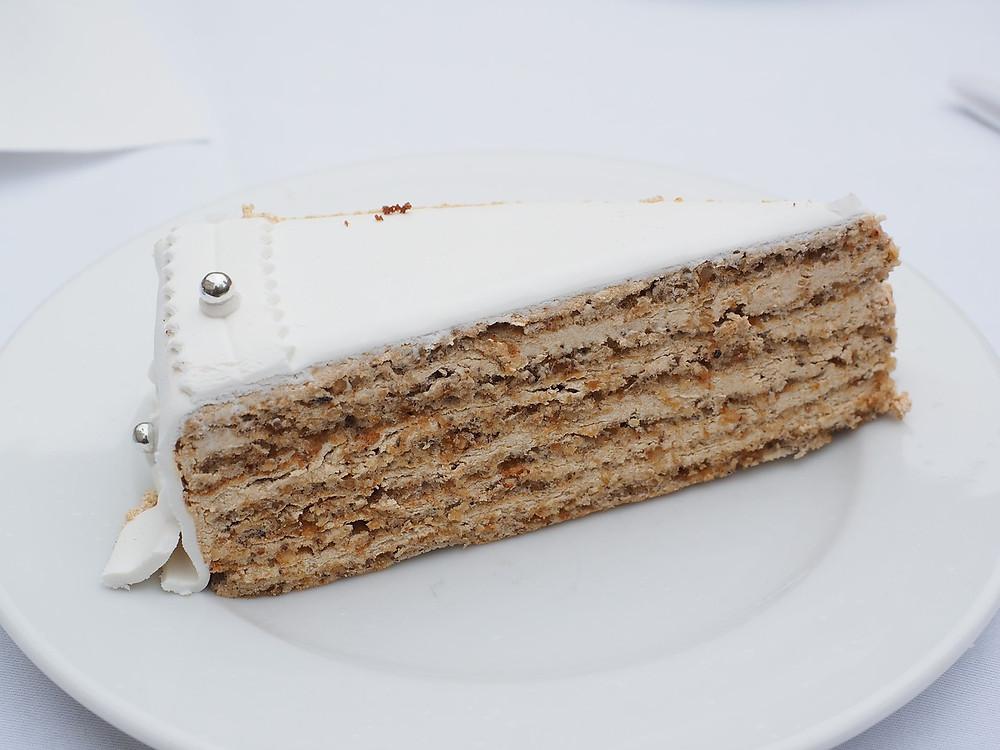 porción torta de bodas