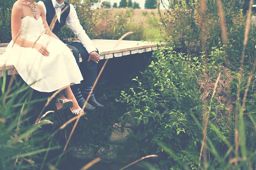 boda ecologica; escenario natural