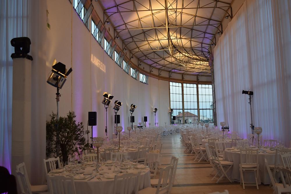 boda minimalista decoración