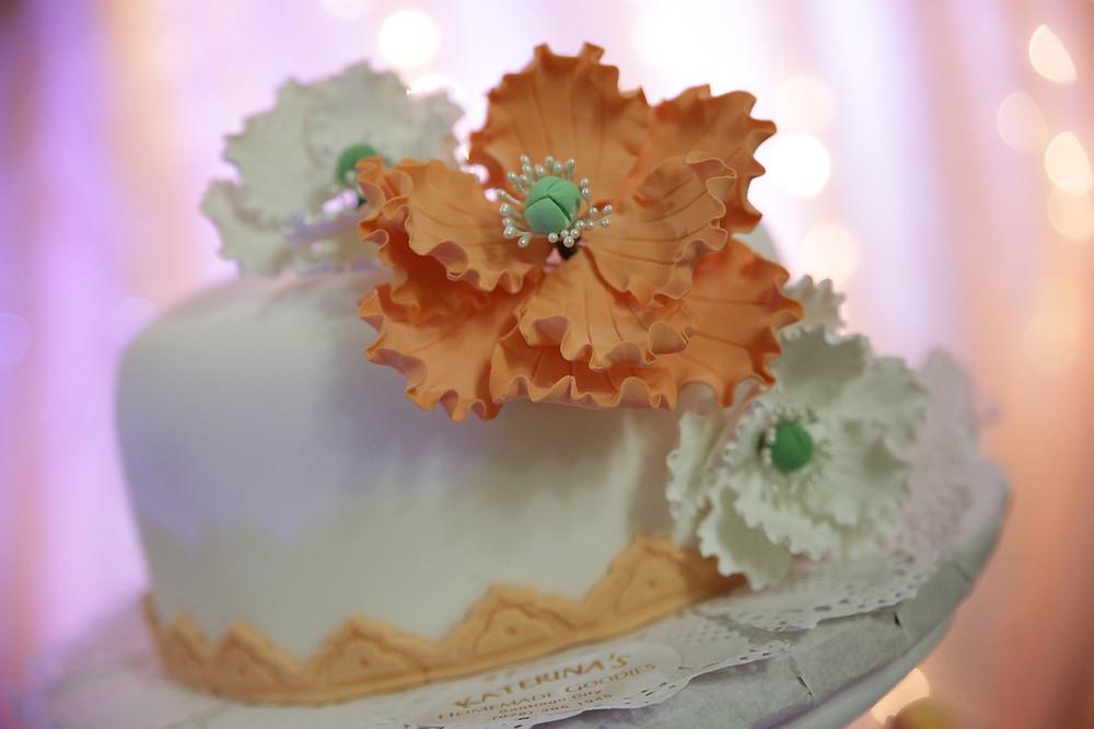 torta de bodas tipo sombrero