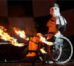 Студия огня и света   световое шоу   файер на колесах   инва шоу   студия для колясочников   активный колясочник