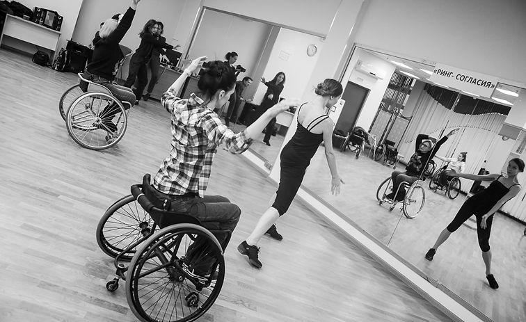 Инклюзивный балет   студия инклюзивного танца   инклюзивный театр   Записаться на классы