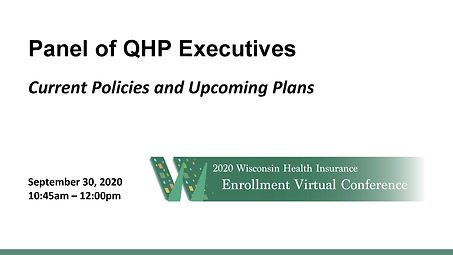 QHP Panel_WI Enrollment Conference_Compi