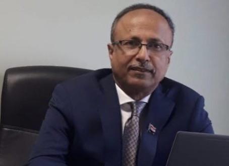 الرئيسية / الجنوب العربي / المدير العام لمكتب الإدارة العامة للشؤون الخارجية للمجلس الانتقالي الجنوب