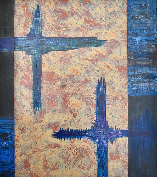 Acid washed crosses