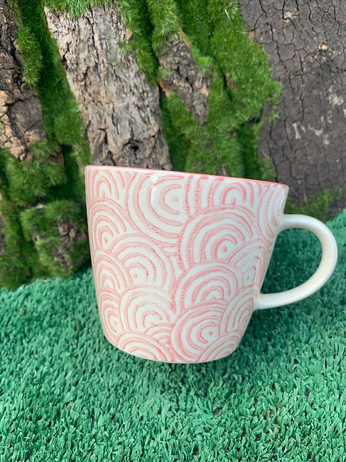 Pink Pattern Cup