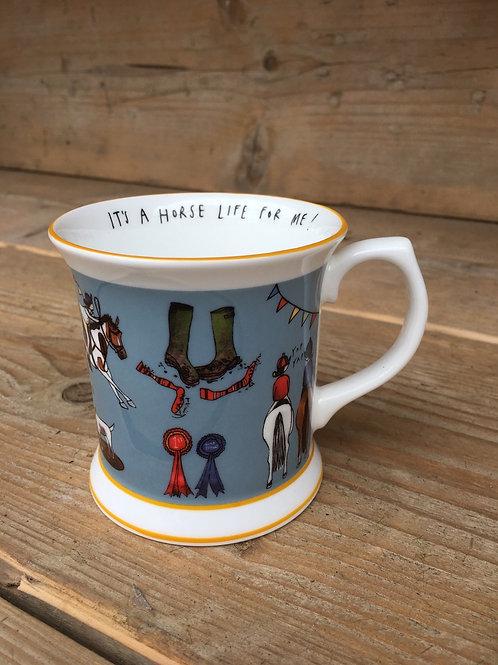 "Katie Cardew ""Horse Life"" Mug"