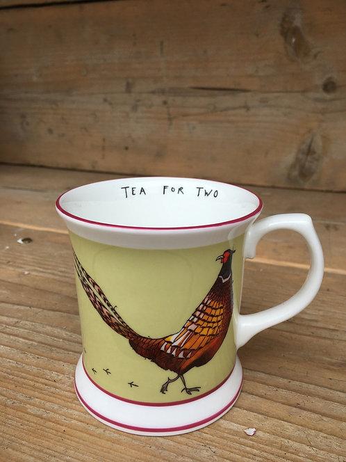 "Katie Cardew ""Pheasant"" Mug"