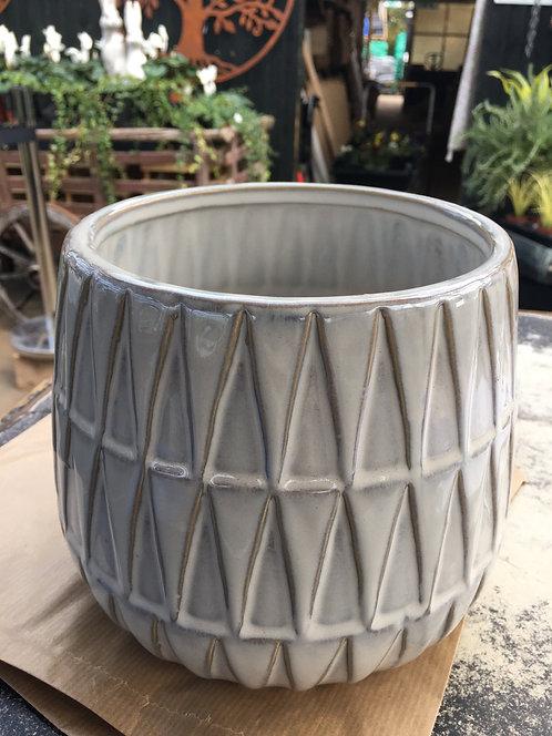 Plant Pot Nomad Large Ceramic White