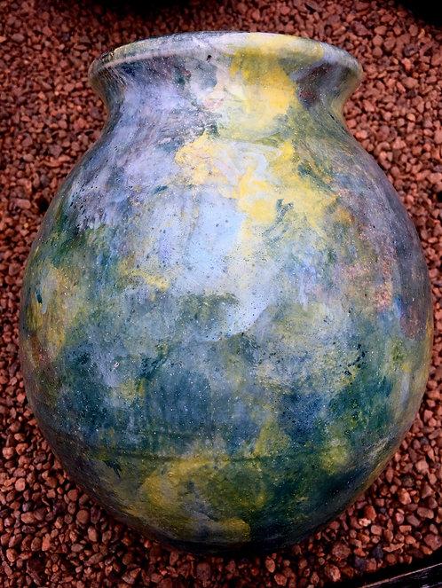 Green Glaze Vase (S)