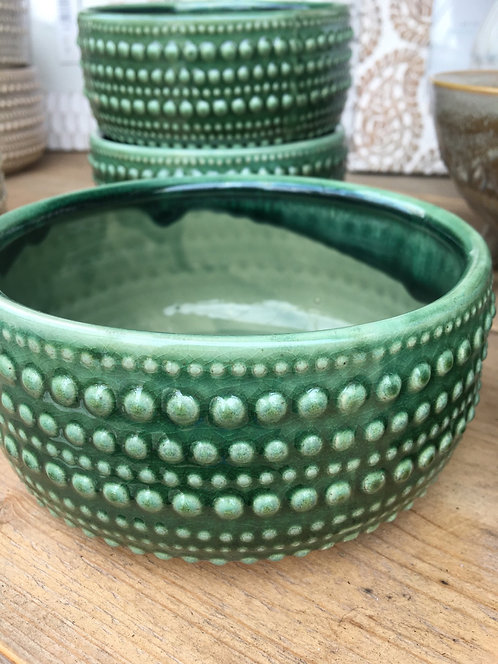 Castello Bowl- Foliage Green (M)