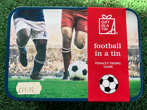 Gift In a Tin 'Football In a Tin'
