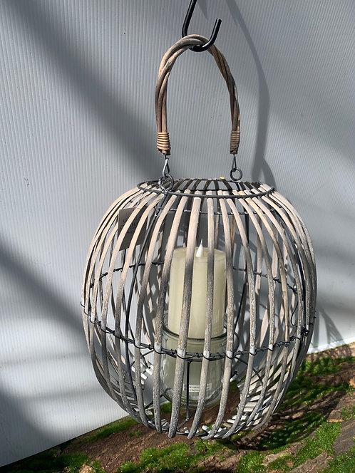 Wicker Lantern Large