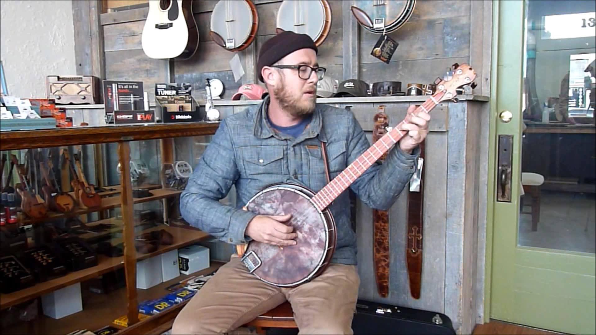 """Mike Clark - Banjo """"Rojo Caliente"""""""
