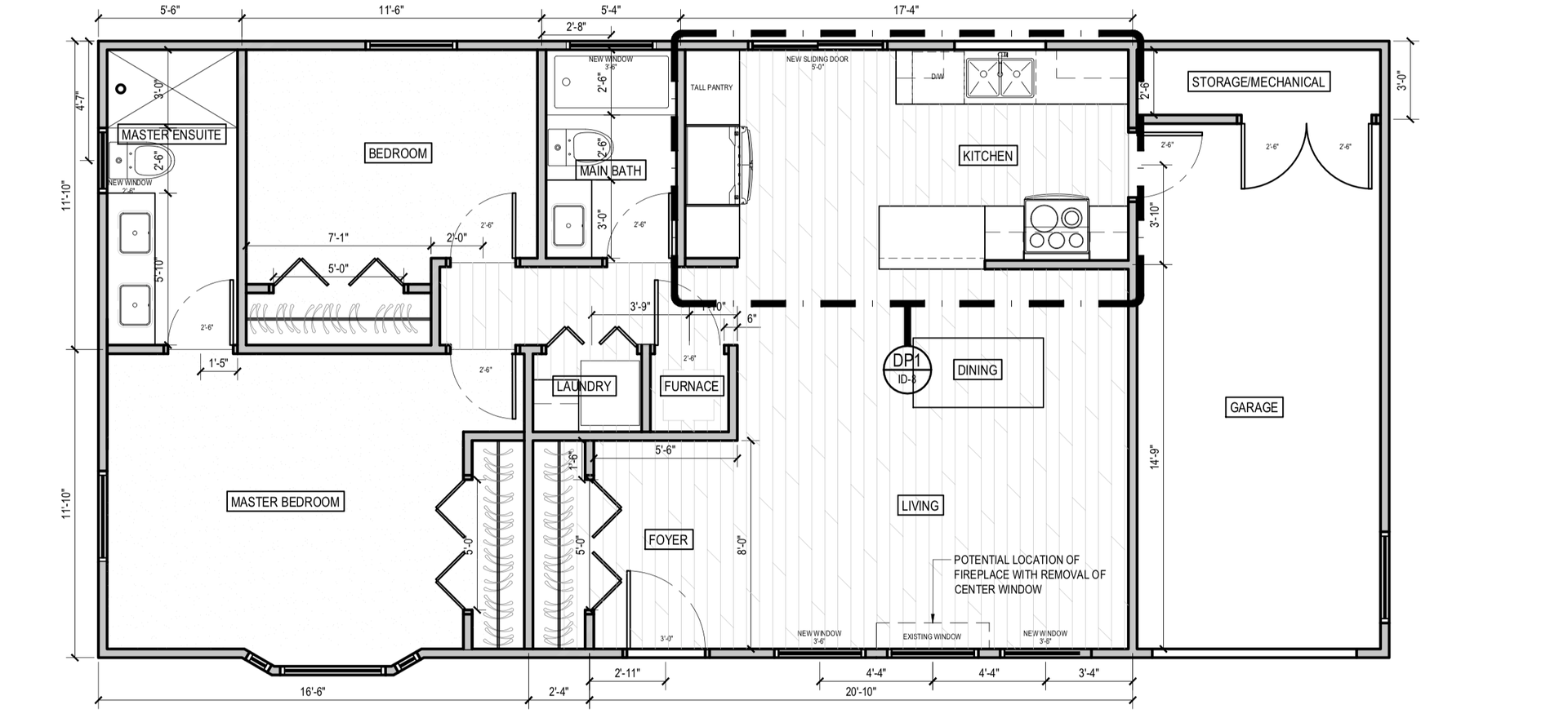Floor Plan #105