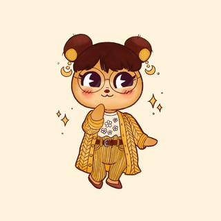 Honey my ACNH character