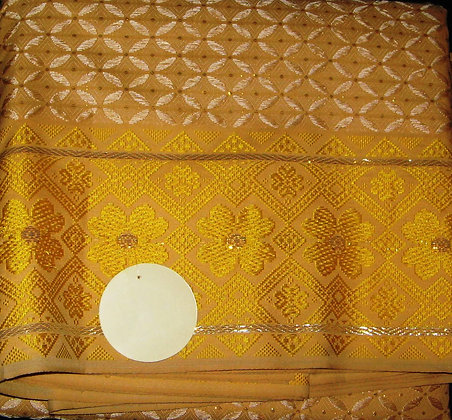 Gold George Fabric