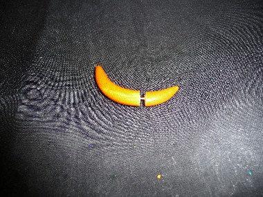 Yellow Wood Ear Plug