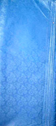 Blue African Brocade