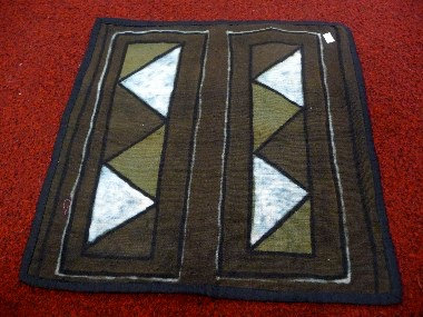 Mud Pillow Case or Wall Hanging