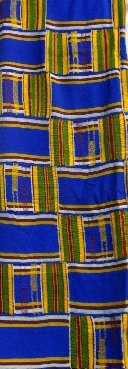 Handmade Multi-Color Kente Fabric