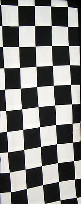 Black & White Cotton Fabric