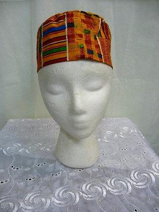 Kente Print Hat