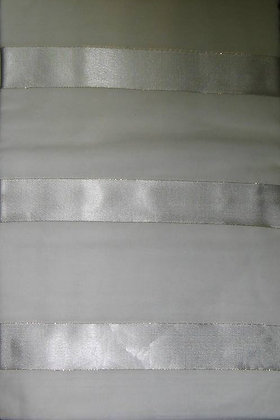 White & Gold Asian Fabric
