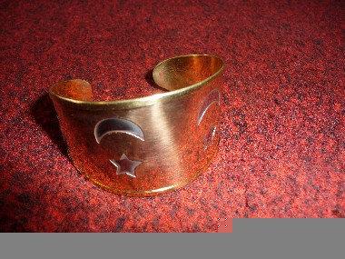Gold Brass Bracelet