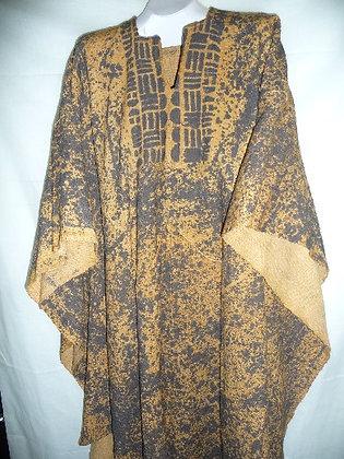 Mud Cloth Poncho