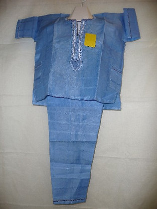 Blue Linen-3 PC Set