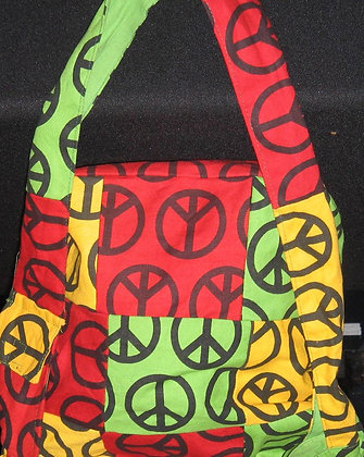 Peace Fabric Bag