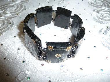 Beads & Wood Bracelet