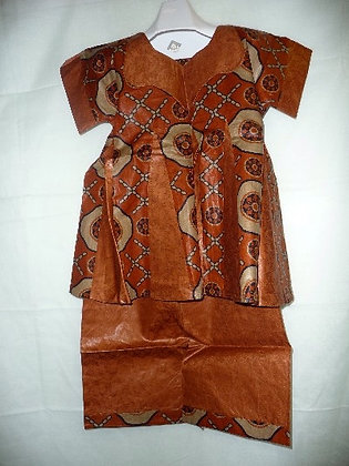 Mixed Fabric Brocade
