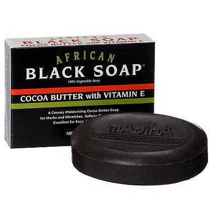 Cocoa Butter Black Soap