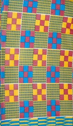 Wax African Print Fabric