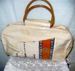 Beige Lady's Handbag