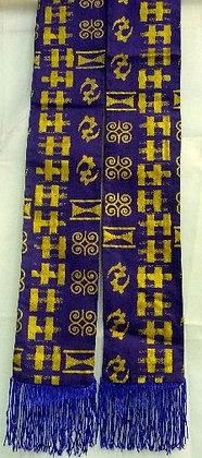 Purple & Gold Scarf