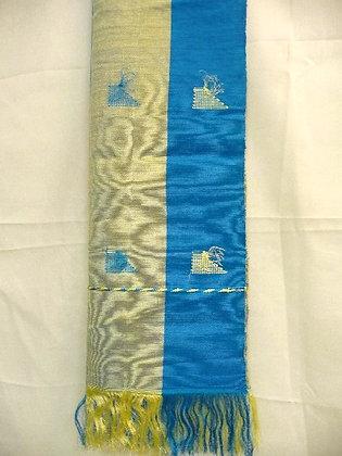 Turquoise Asoke Scarf