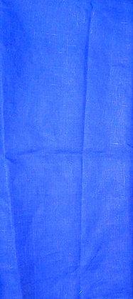 Royal Blue Linen Fabric