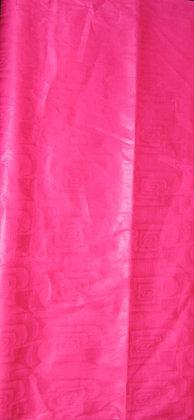 Dark Pink African Brocade