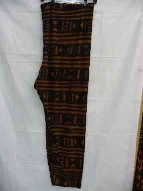 Brown Mud Cloth Pants