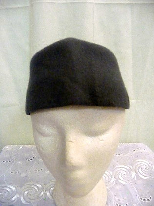 Gray Wool Hat