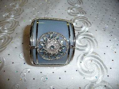 Silver & Gray Bracelet