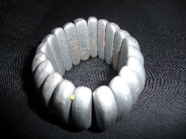 Gray Wood Bracelet