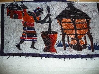 Batic Fabric