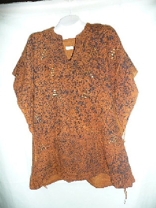 Brown Mud Poncho