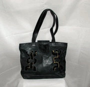 Mud Cloth & Leather Bag